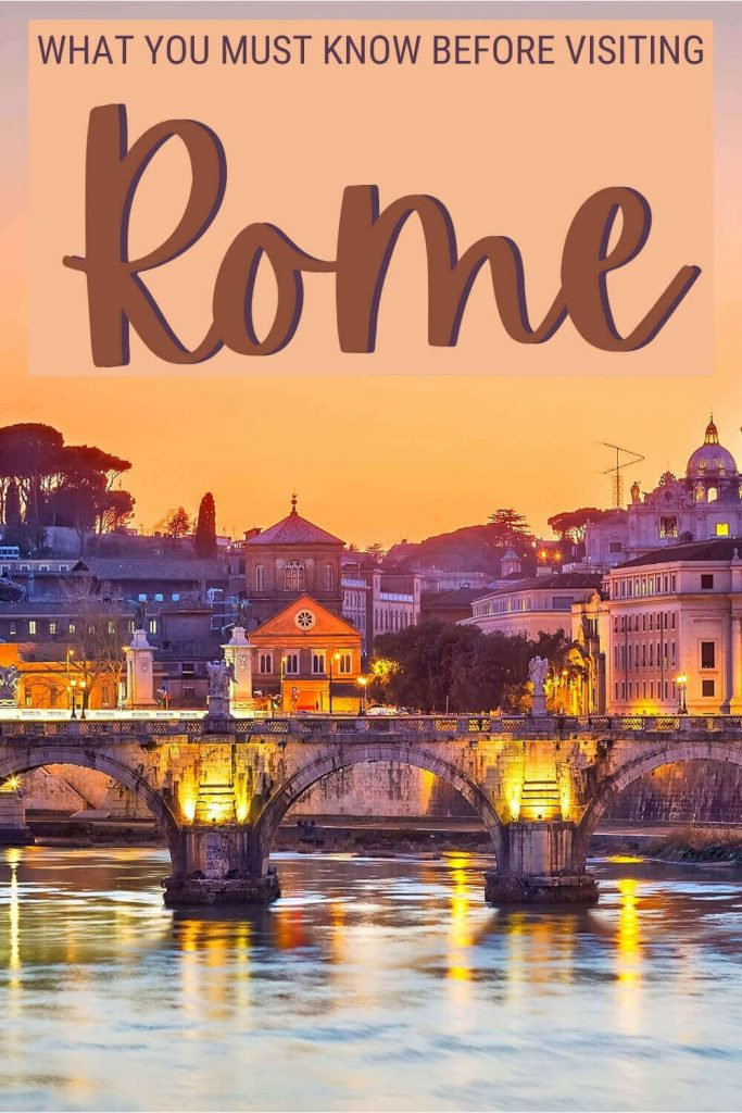 Read what you must know before visiting Rome - via @strictlyrome