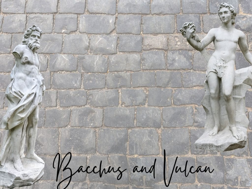 Bacchus and Vulcan