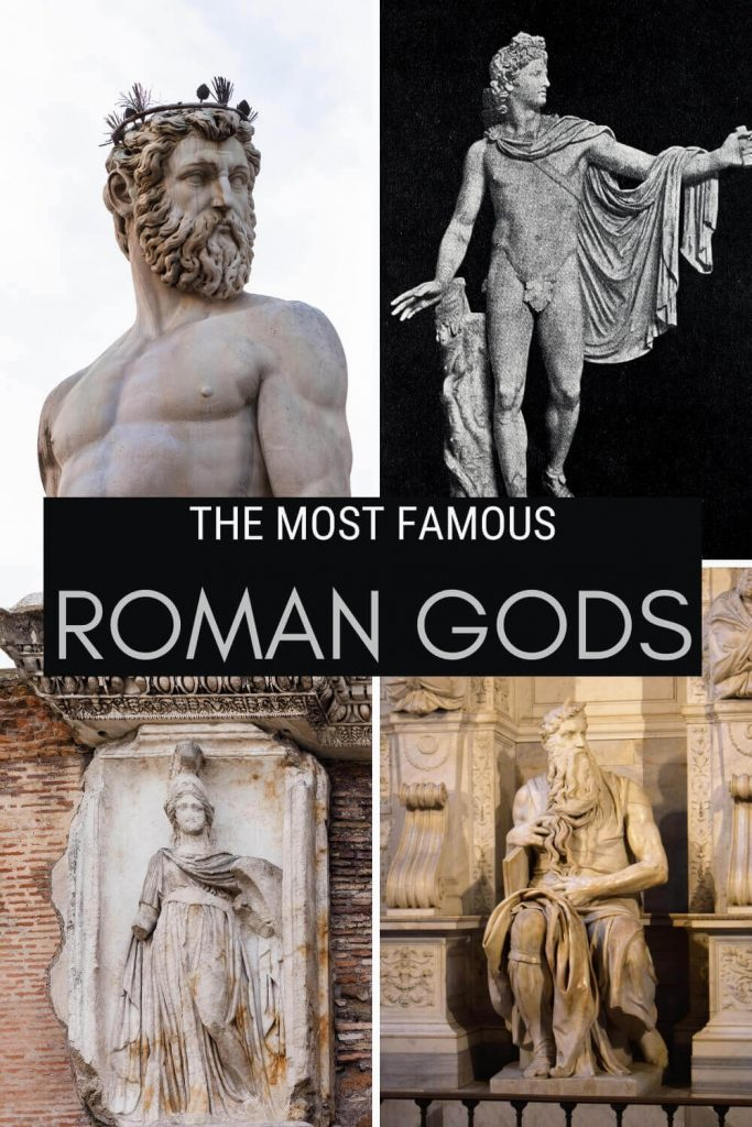 Discover the most important Gods and Goddesses in Rome - via @clautavani