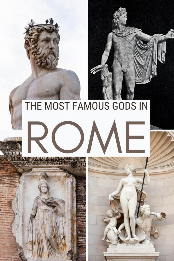 Discover the most famous Roman Gods and Goddesses - via @strictlyrome