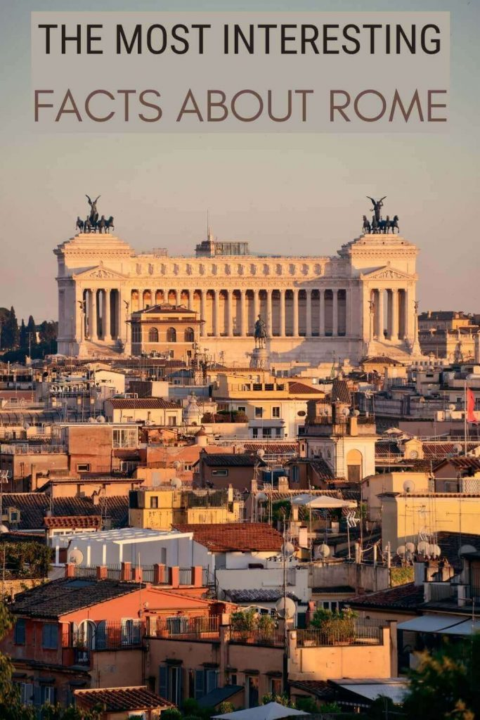 Check out the most interesting facts about Rome - via @strictlyrome