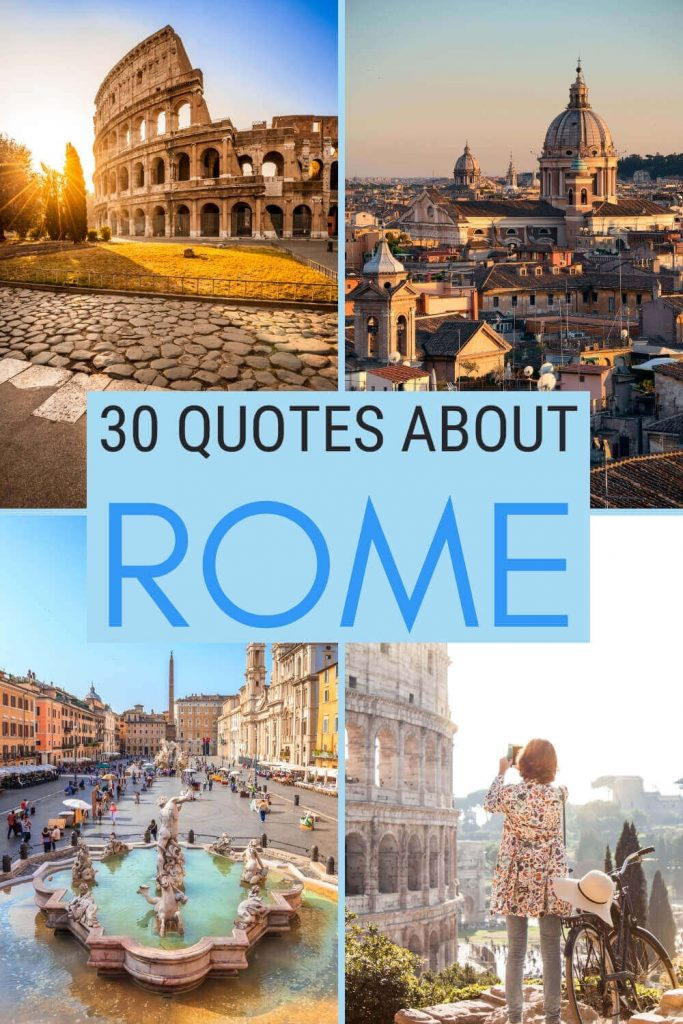 Check out the best quotes about Rome - via @strictlyrome
