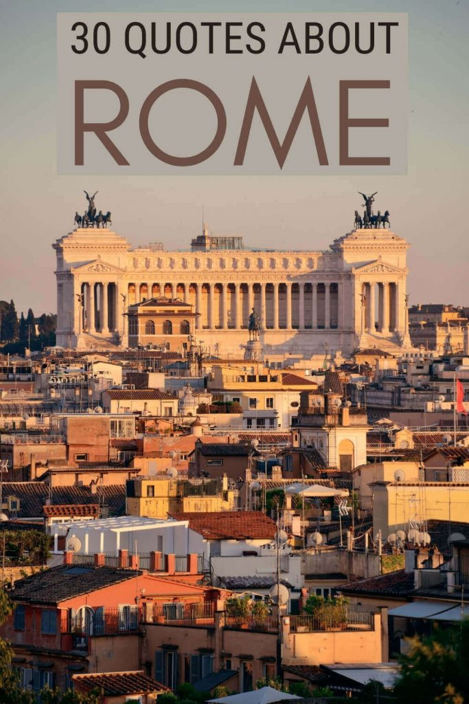 Read the best quotes about Rome - via @strictlyrome
