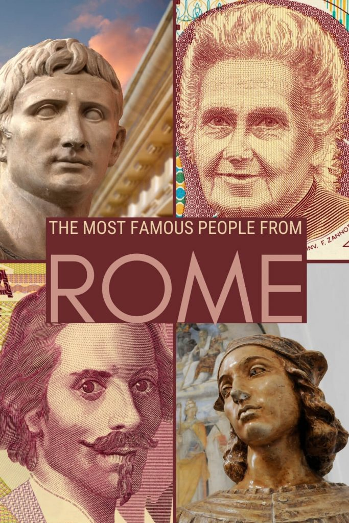 Learn about the most famous people from Rome - via @strictlyrome