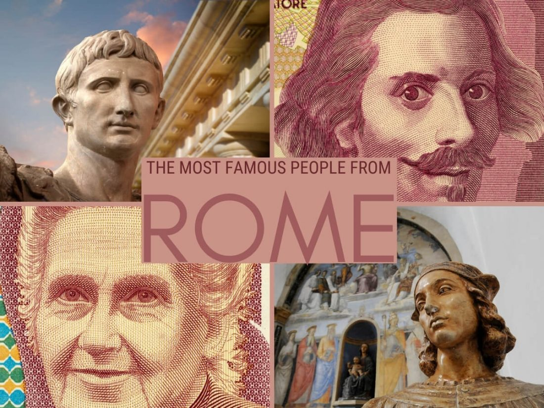 Famous people from Rome