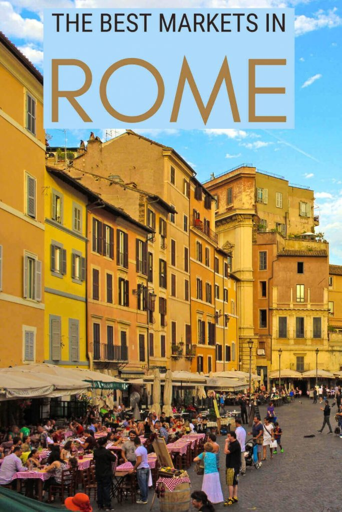 Check out the nicest Rome markets - via @strictlyrome