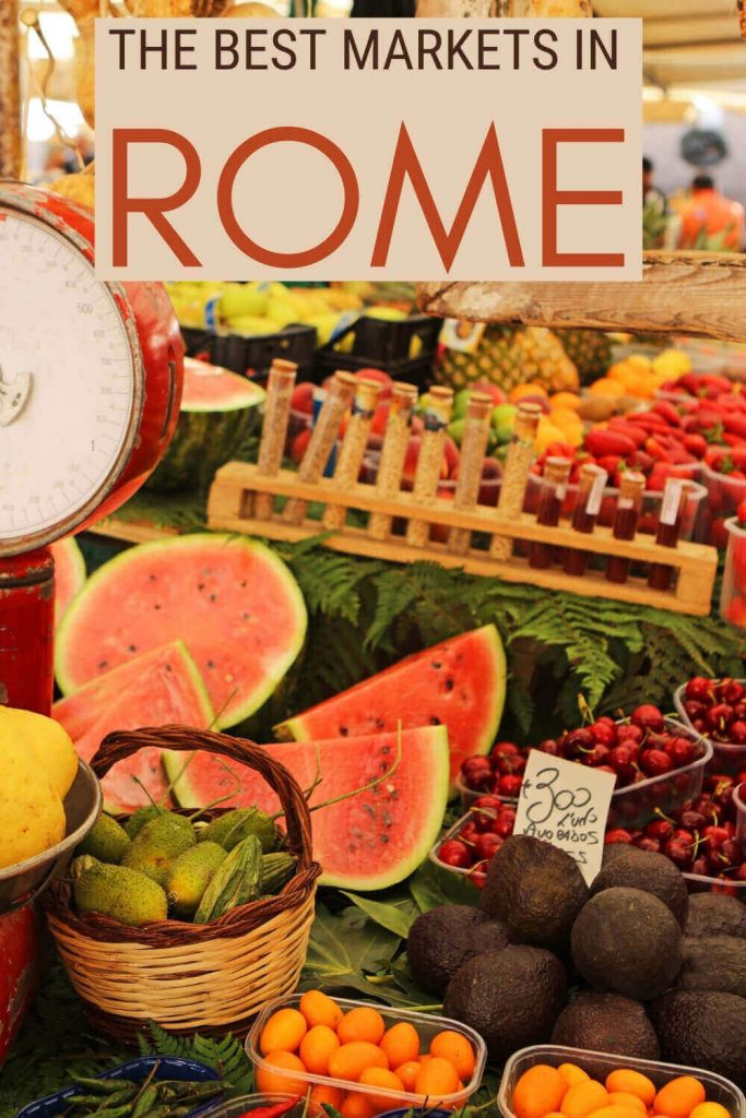 Read about the best markets in Rome - via @strictlyrome