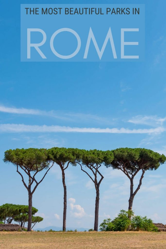 Discover the most beautiful parks in Rome - via @strictlyrome