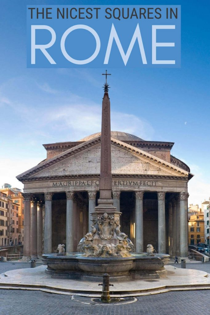 Check out the nicest squares in Rome - via @strictlyrome