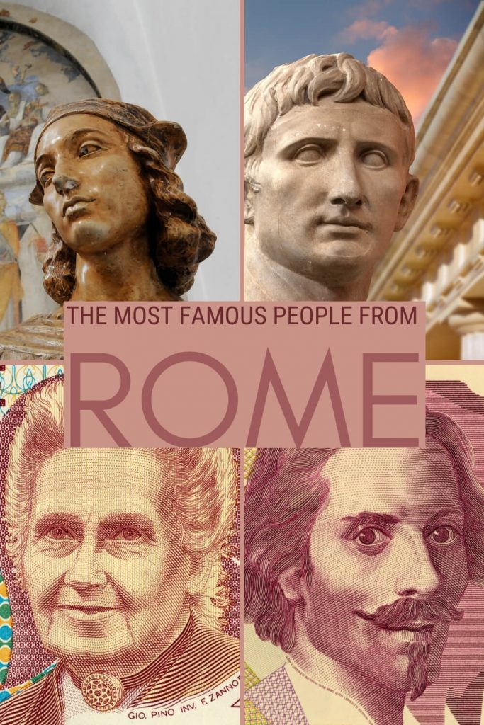 Find out who the most famous people from Rome are - via @strictlyrome