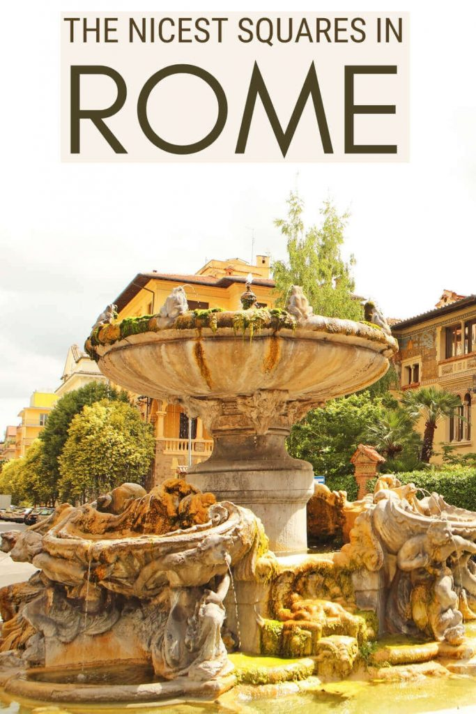 Read about the nicest squares in Rome - via @strictlyrome