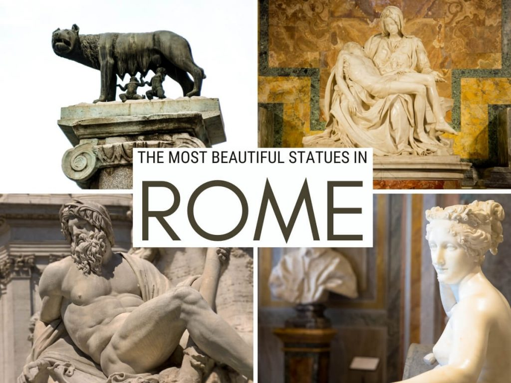 statues in rome