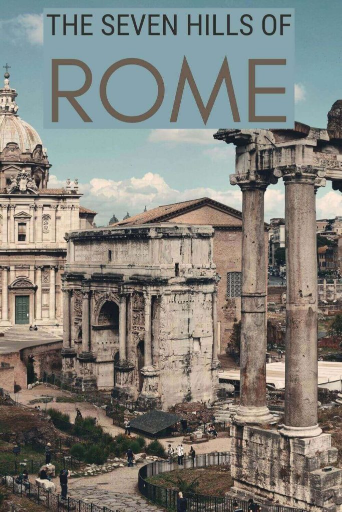 Read about the Seven Hills of Rome - via @strictlyrome