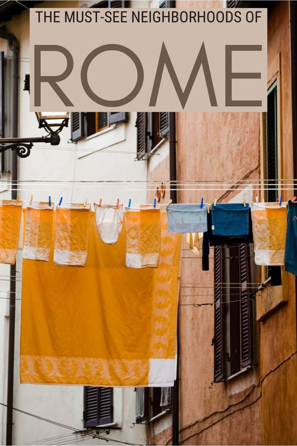 Discover the most charming neighborhoods of Rome - via @strictlyrome