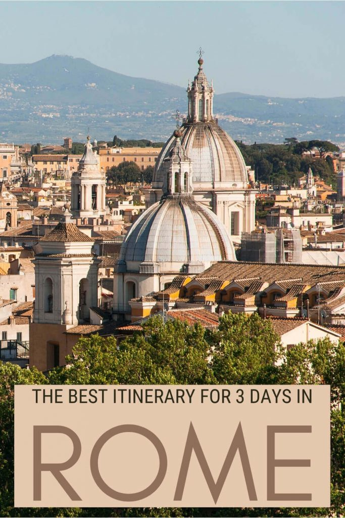Discover how to make the most of Rome in 3 days - via @strictlyrome