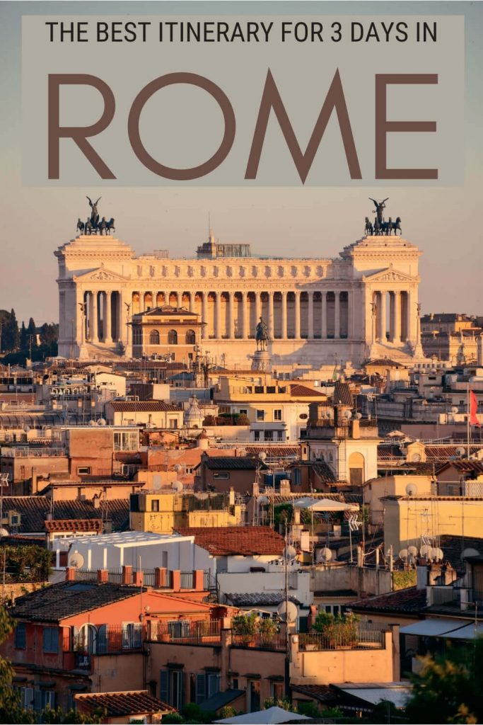 Check out the best itinerary to see Rome in 3 days - via @clautavani