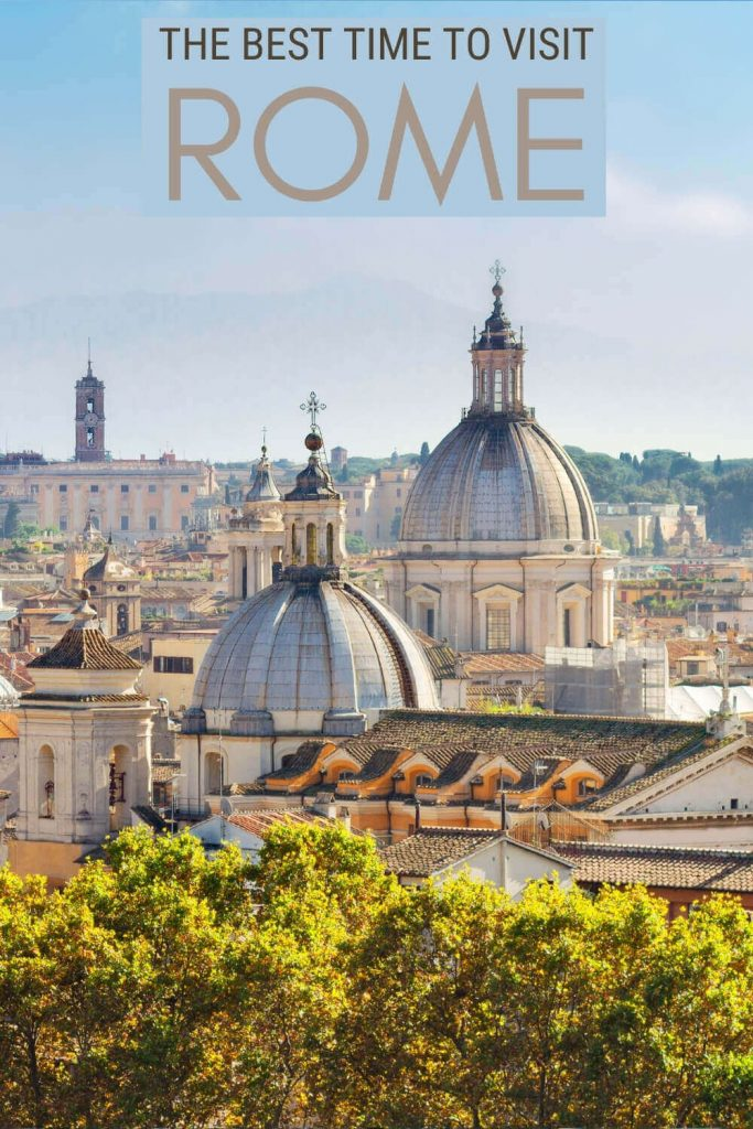 Learn about the best time to visit Rome - via @strictlyrome