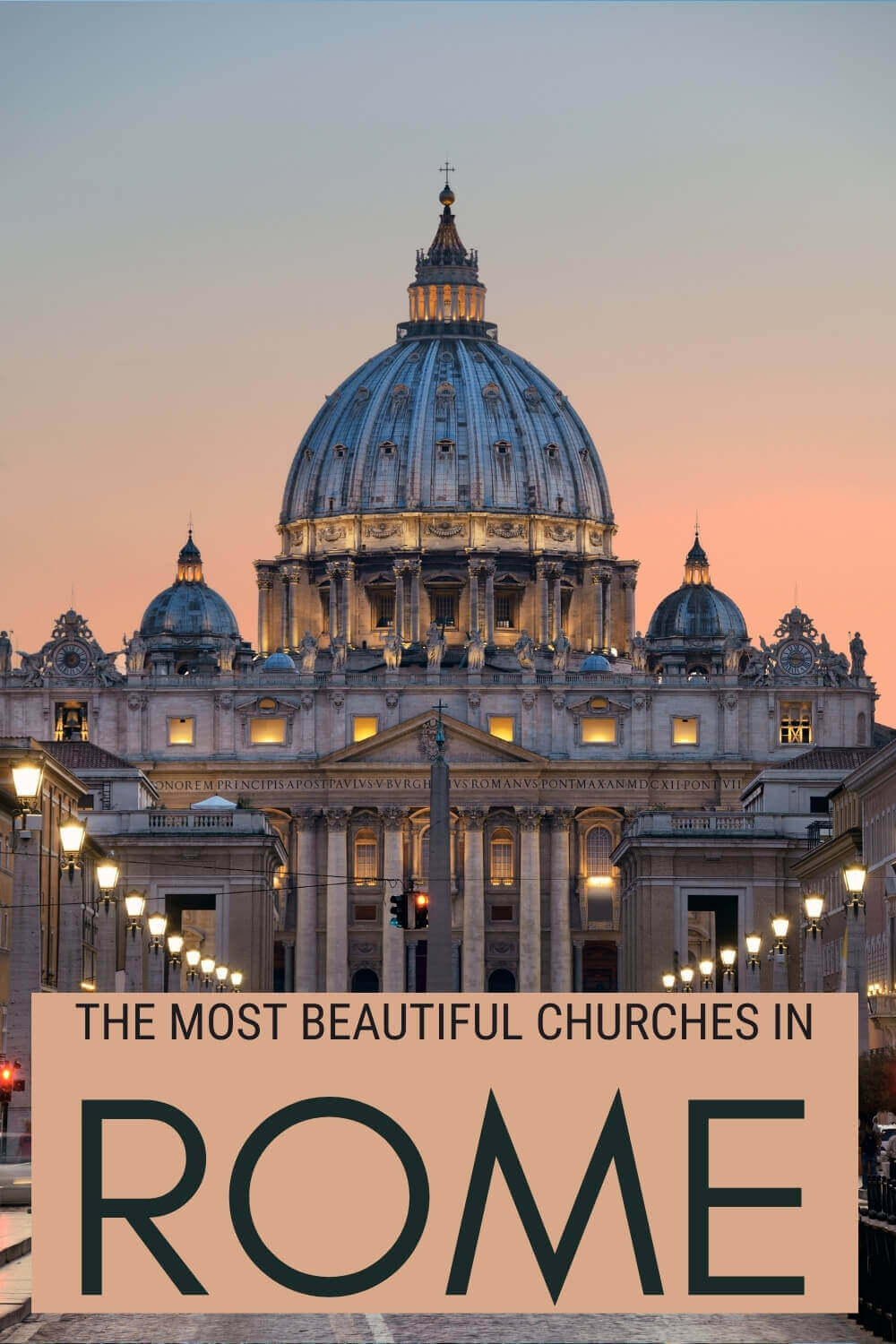 Read about the most beautiful churches in Rome - via @strictlyrome