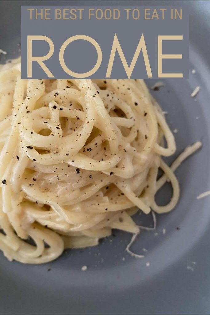 Read about the best food in Rome - via @strictlyrome