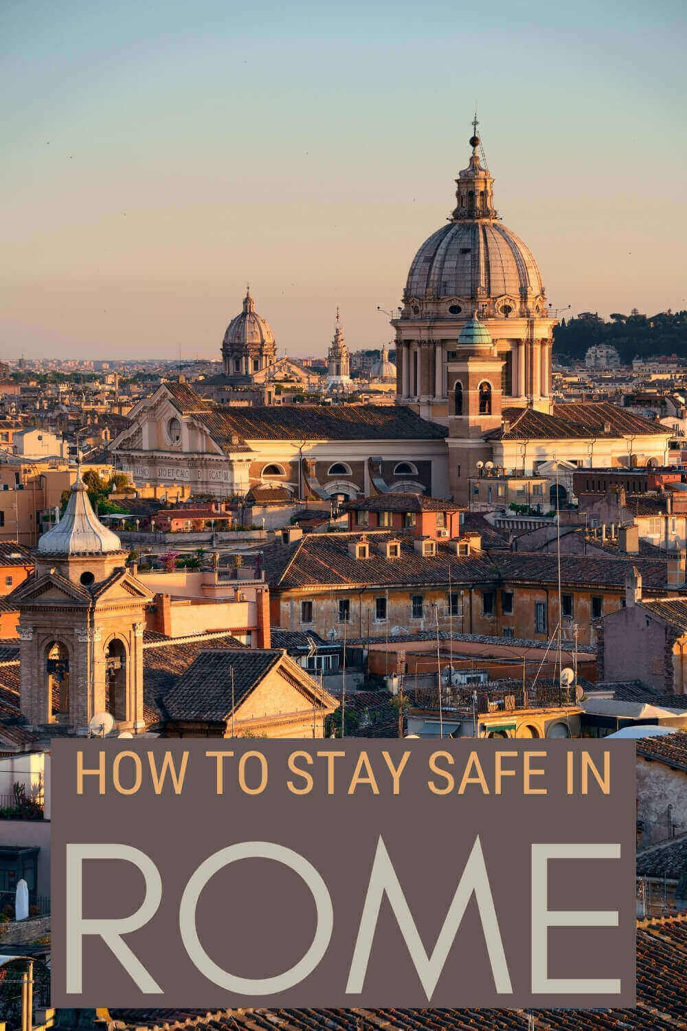 Read the best safety tips for Rome - via @strictlyrome
