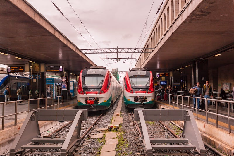 From Fiumicino to Rome City Center