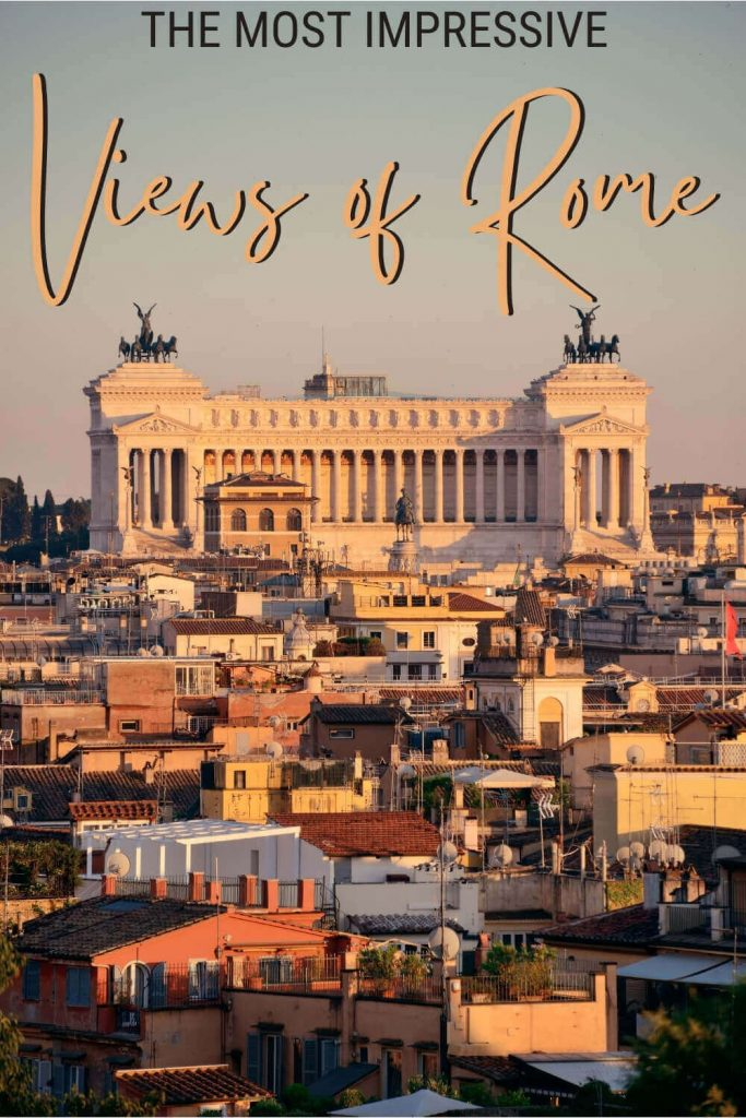 Discover where to get the best views in Rome - via @strictlyrome