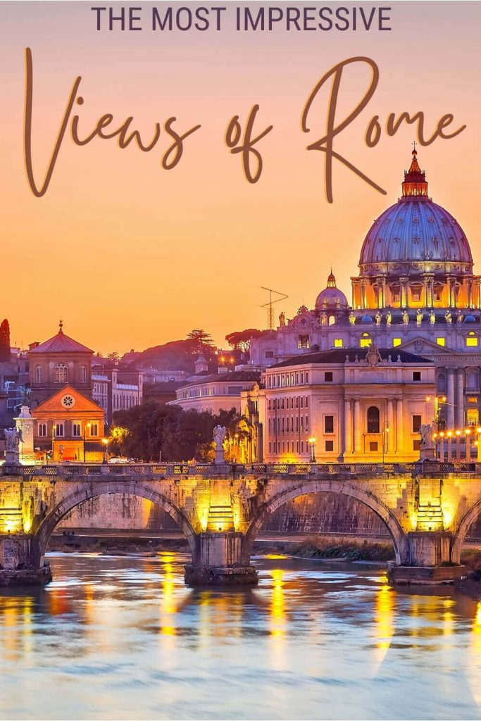 Find out where to go to get the best views in Rome - via @strictlyrome