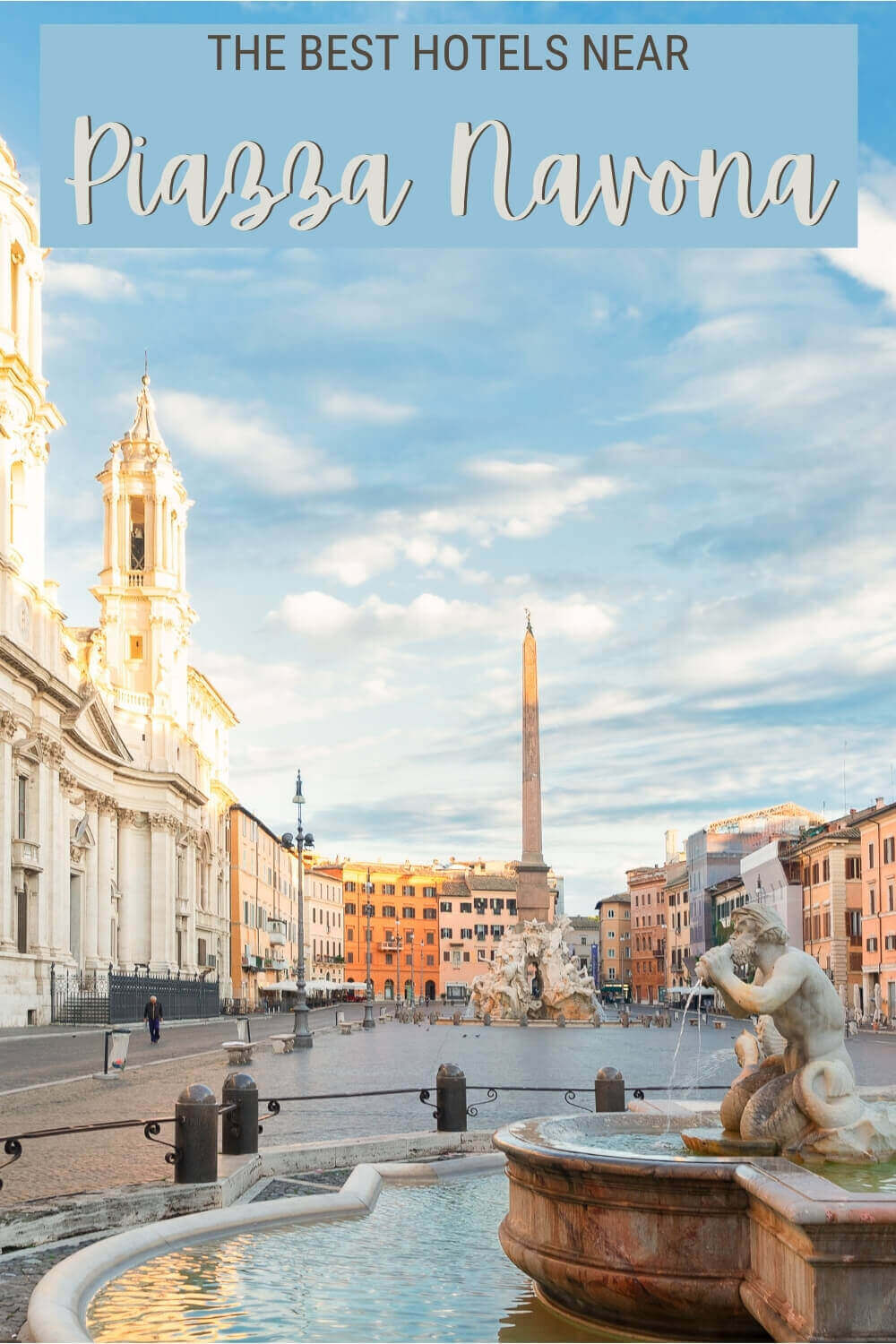 Check out the best hotels near Piazza Navona, Rome - via @strictlyrome